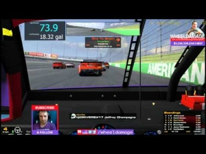 2014 5 Hour Energy Round 11 Kansas #iRacing NASCAR Fixed Series 2