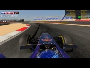 [rFactor 2] Sebastian Vettel @ Bahrain | 2 LAPS NO AIDS | ONBOARD