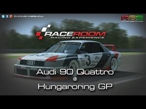 R3E | Audi 90 Quattro | Hungaroring