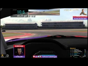 #iRacing 2014S2W3 GT3 Challenge at COTA BMW 70 minutes 3