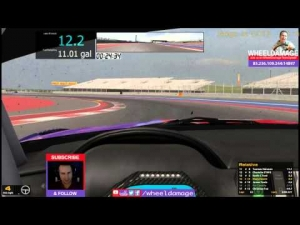 #iRacing 2014S2W3 GT3 Challenge at COTA BMW 70 minutes 5