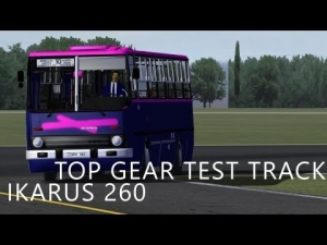 Ikarus 260 | Top Gear Test Track | Test