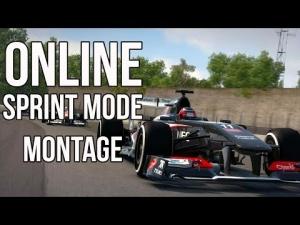 F1 2013 online sprint mode montage