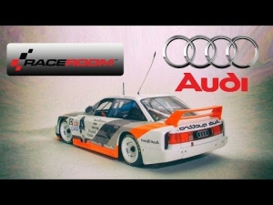 First 3xLCD play with RaceRoom *NEW* Audi 90 Quattro IMSA
