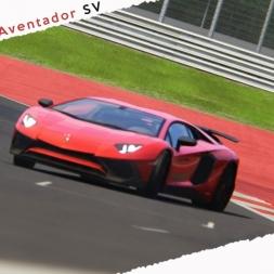 Assetto Corsa Lamborghini Aventador SV @ RedBull Ring Red Pack