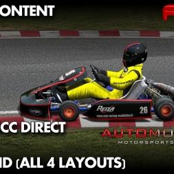 Automobilista | 125cc Direct Drive Kart | Speedland Kart Centre|