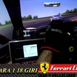 ASSETTO CORSA_ROTW Ferrari Challenge 2016_Gara 4 Vallelunga_ 18 + 18 giri