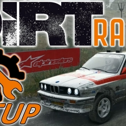 DiRT Rally Top 170 - Controller - BMW E30 M3 - Wales Rain - Mods - 1440p - Setup Sunday