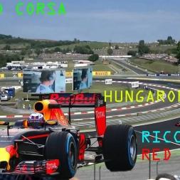 AssettoCorsa 1.7.3 F1 ACFL 2016 V3 2 RED BULL RICCIARDO HUNGARORING GP