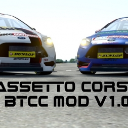 Assetto Corsa / BTCC BMW 125i / Silverstone National