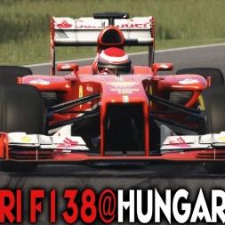 Assetto Corsa [Red Pack] : Ferrari F138 @ Hungaroring