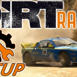 DiRT Rally Top 10 w/ Controller - Lancia Evo - Greece - Mods - Setup Sunday - 1440p