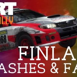 DiRT Rally | Finland Crashes & Fails