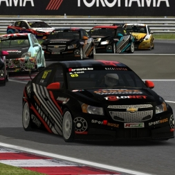 VSR HTCC 2015 |  RACE07 |  Hungaroring | Balazs Toldi OnBoard