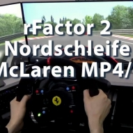 rFactor2 - Nordschleife - McLaren MP4-6 - Schrei du Sau...