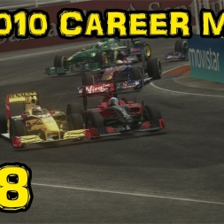 F1 2010 Career - S2R9 - Europe - Pay Attention!