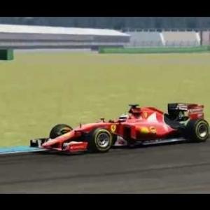 Ferrari SF15-T @ Hoch