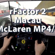 rFactor2 - Macau - McLaren MP4-6