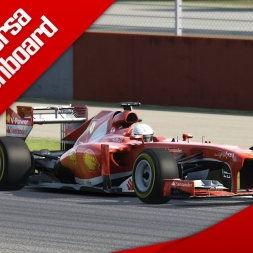 Assetto Corsa F1 2013 Ferrari F138 Onboard Silverstone Red Pack DLC