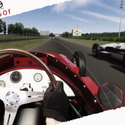 Assetto Corsa 1.7 Maserati 250f Real Onboard Cam at Monza