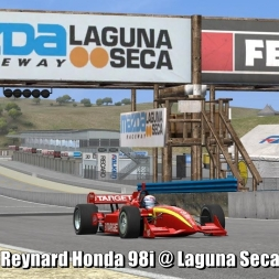 Reynard Honda 98i @ Laguna Seca - Automobilista 60FPS
