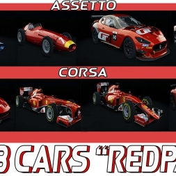 ★Assetto Corsa - Red Pack DLC - 8cars