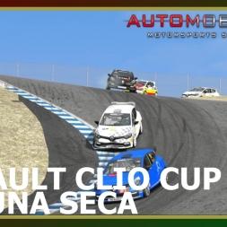 Automobilista - Renault Clio Cup - Laguna Seca