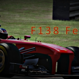 Assetto Corsa | Ferrari F138 @ Brands Hatch Full course | Onboard + TV CAM