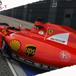 Assetto Corsa Ferrari SF15-T Real Onboard Cam at Silverstone