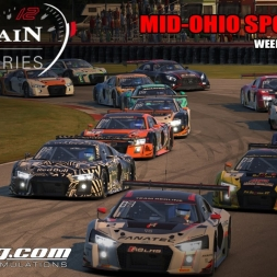 iRacing | Blancpain @ Mid-Ohio Sports Car 3870SoF | Highlights