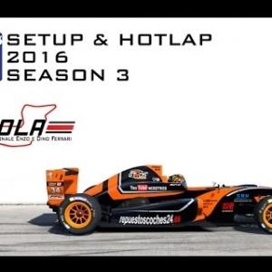 iRacing Formula Renault 2.0 @ Imola | Setup & Hotlap 1'42.099 | Season 3 - 2016