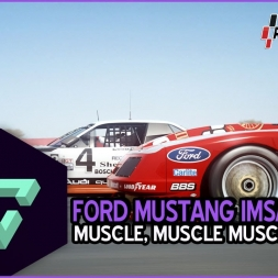 RACEROOM RACING EXPERIENCE | PURO MUSCULO | FORD MUSTANG IMSA GTO - MID OHIO | ESPAÑOL HD.