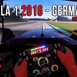 Formula 1 2016 Germany (Alemania) GP - Circuit de Hockenheim Onboard Virtual Lap