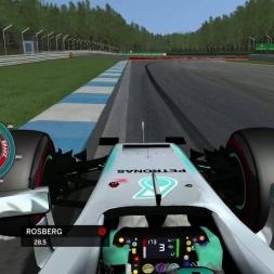 rFactor F1 2016 - Nico Rosberg Onboard in Hockenheim