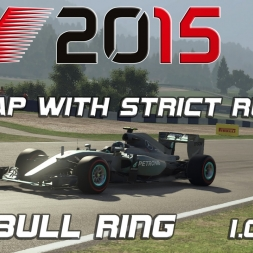 F1 2015 | Red Bull Ring | Hotlap with strict Rules |1.06,872 [PC][60FPS]