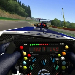 Williams FW31 at Spa with the Oculus Rift CV1