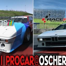Comparativo : Project Cars X Raceroom : BMW M1 Procar @ Oschersleben