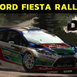 Dirt Rally - Ford Fiesta Rally at Finland