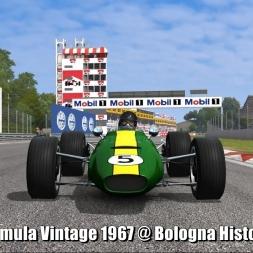 Formula Vintage 1967 @ Bologna Historic - Automobilista 60FPS