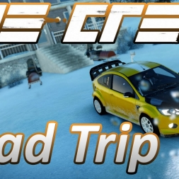 Road Trip - Salt Lake Resort to San Bernadino - Timelapse - The Crew Wild Run 1440p