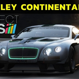 Project Cars - Bentley Continental GT3 at Spa-Francorchamps