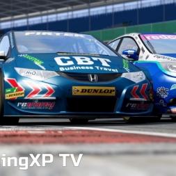 Assetto Corsa - Honda Civic BTCC - Silverstone - Mod Gameplay [PT BR]