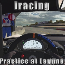 iracing: Open Practice at Laguna Seca