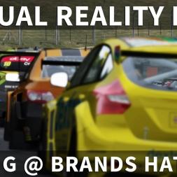 BTCC AI Race @ Brand Hatch Indy | Assetto Corsa [Oculus Rift CV1 + T300RS]