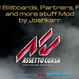 Assetto Corsa -Real Billboards and Stuff for all Kunos Tracks 1.0 by Joshkerr + Download link