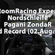 RaceRoomRacing Experience - Nordschleife - Pagani Zonda R - World Record - 6:06:845