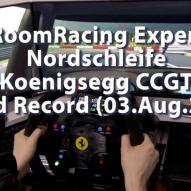RaceRoomRacing Experience - Nordschleife - Koenigsegg CCGT - World Record