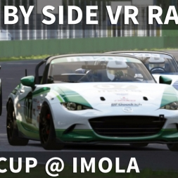 Mazda MX-5 Cup Online Race From The Back @ Imola | Assetto Corsa [Oculus Rift CV1 + T300RS]