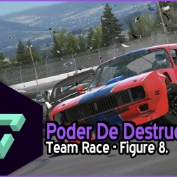 NEXT CAR GAME WRECKFEST | PODER DE DESTRUCCION | TEAM RACE | FIGURE 8 | - ESPAÑOL HD -