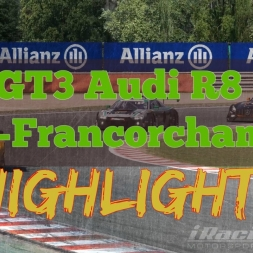 iRacing | GT3 Audi R8 LMS @ Spa-Francorchamps | TV CAM